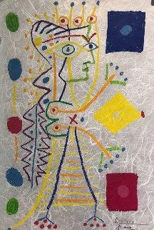 Jacqueline (White) 1958 HS Limited Edition Print - Pablo Picasso