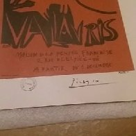 Exposition  Book Page Linocut 1952 HS Limited Edition Print by Pablo Picasso - 2