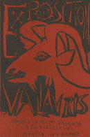 Exposition  Book Page Linocut 1952 HS Limited Edition Print by Pablo Picasso - 0