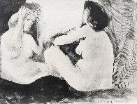 Deux Femmes - Double Flute Limited Edition Print by Pablo Picasso - 0