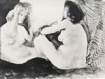 Deux Femmes - Double Flute Limited Edition Print - Pablo Picasso