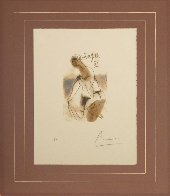 Figura Femminile 1970 HS Limited Edition Print by Pablo Picasso - 2