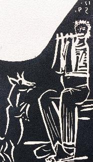 Faune Et Chevre 1959 Limited Edition Print - Pablo Picasso