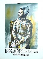 Portrait of Harlequin, Picasso the Early Years, Musee D'art Histoire, Paris 1960 Poster Limited Edition Print by Pablo Picasso - 2