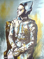 Portrait of Harlequin, Picasso the Early Years, Musee D'art Histoire, Paris 1960 Poster Limited Edition Print by Pablo Picasso - 0