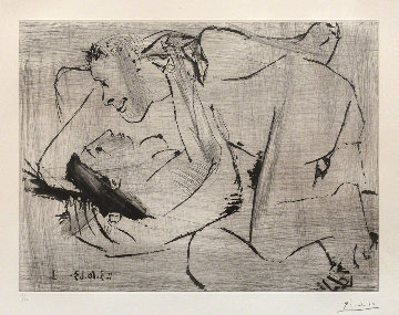 The Embrace VI (L'etreinte VI -3rd State) 1966 Limited Edition Print - Pablo Picasso