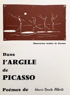 Dans L'argile De Picasso Poster 1957 Limited Edition Print by Pablo Picasso