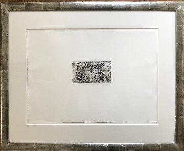 Tete De Femme De Face (Large) 1945 Limited Edition Print - Pablo Picasso