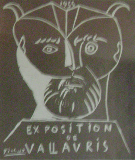 Exhibition Vallauris Poster 1955 Limited Edition Print by Pablo Picasso