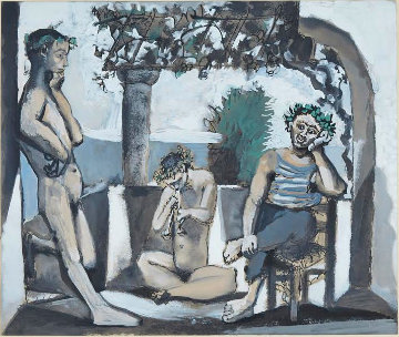Bacchanale 1960  Limited Edition Print by Pablo Picasso