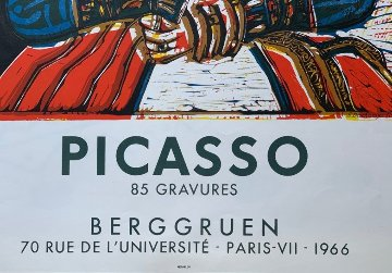 Buste De Femme D'apres Cranach Le Jeune Poster 1966 Limited Edition Print - Pablo Picasso