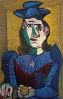 Rare Exhibition Poster For Picasso Exposition At Musée Des Arts Décoratifs, Paris 1955 Limited Edition Print by Pablo Picasso - 1