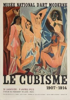 Rare Picasso Exhibition Poster: Le Cubisme 1953 Limited Edition Print by Pablo Picasso