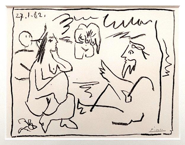 Dejeuner Sur L'herbe 1962 Limited Edition Print by Pablo Picasso