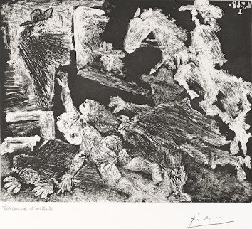 La Celestine.  Poursuite 347 Series No. 92 1968 HS Limited Edition Print - Pablo Picasso
