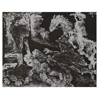 La Celestine.  Poursuite 347 Series No. 92 1968 Limited Edition Print - Pablo Picasso