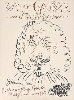 Sala Gaspar, Barcelona 1968 Limited Edition Print - Pablo Picasso