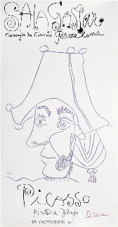 Sala Gaspa, Pintura - Dibujo Poster 1971 Limited Edition Print by Pablo Picasso