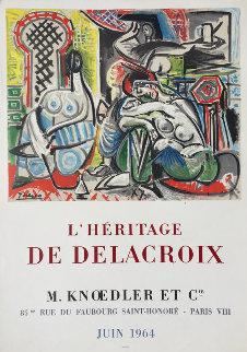 l\'Heritage De Delacroix Poster 1964 Other - Pablo Picasso