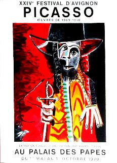 XXIV Festival D\'avignon Poster 1970  Limited Edition Print - Pablo Picasso