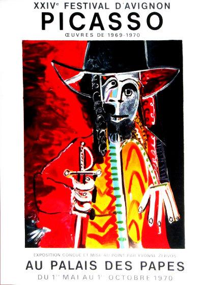 XXIV Festival D'avignon Poster 1970 HS Limited Edition Print by Pablo Picasso