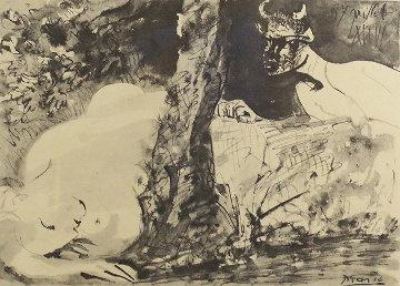 Faune Er Femme 1965 Limited Edition Print - Pablo Picasso