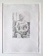 Femme Au Livre 1918 HS Limited Edition Print by Pablo Picasso - 1