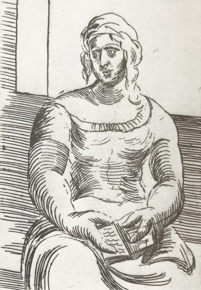 Femme Au Livre 1918 HS Limited Edition Print by Pablo Picasso