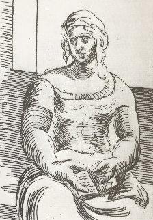 Femme Au Livre 1918 Limited Edition Print - Pablo Picasso