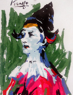 Pierrot Limited Edition Print - Pablo Picasso