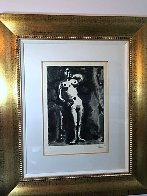 Nu Accoude From Sable Mouvant 1966 Limited Edition Print by Pablo Picasso - 1