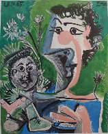 Françoise and Claude Limited Edition Print by Pablo Picasso - 2