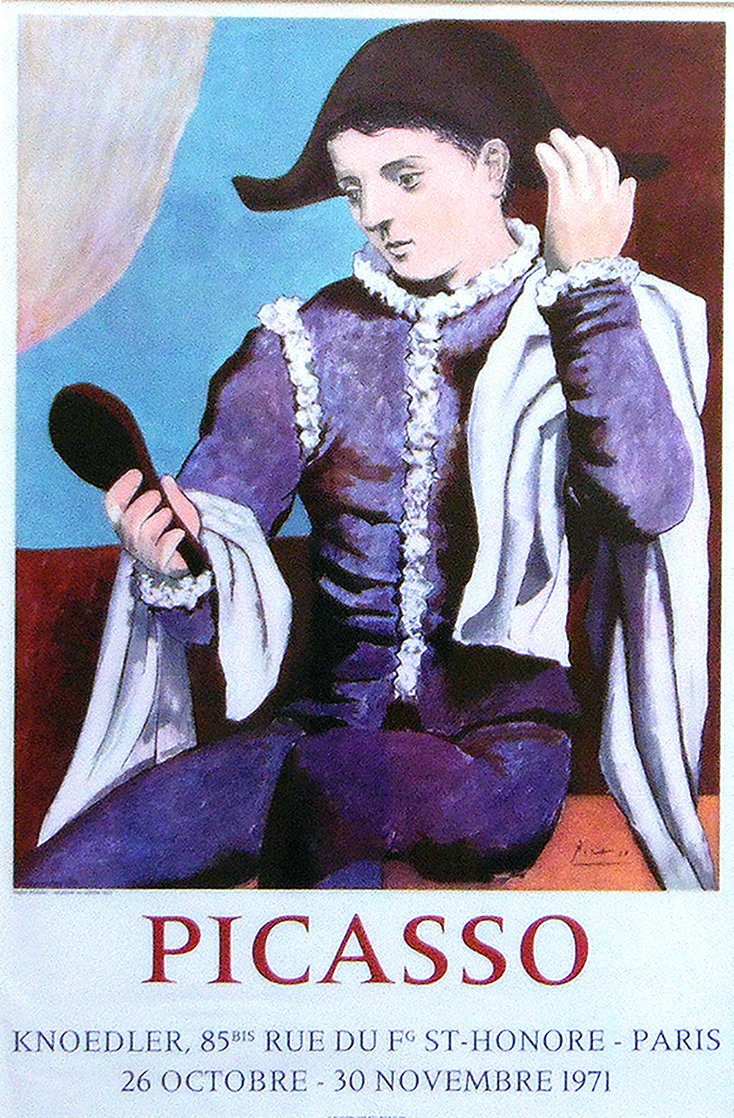 Picasso Paris, Galerie Knoedler Poster 1971 Limited Edition Print by Pablo Picasso