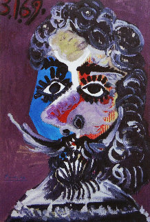 Malborough , Galleria D'arte Roma  1970 Limited Edition Print by Pablo Picasso