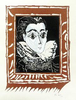 La Femme a La Fraise 1963 Limited Edition Print - Pablo Picasso
