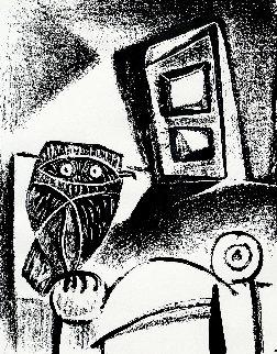Le Hibou Noir HS Limited Edition Print by Pablo Picasso
