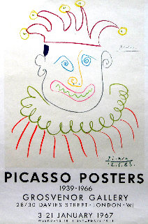 Picasso Posters: Grosvenor Gallery, London 1966 Limited Edition Print by Pablo Picasso