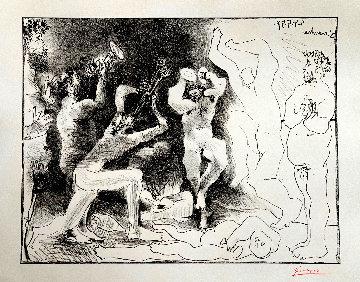 La Danse Des Faunes AP 1957 Limited Edition Print by Pablo Picasso
