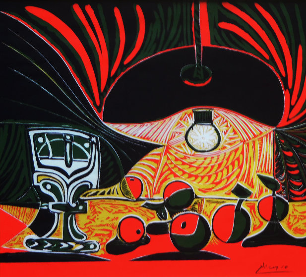 Picasso Linocuts Poster 1958-1963 (1968) Limited Edition Print by Pablo Picasso