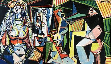 Jacqueline Dans L'atelier D'artiste 1960 Limited Edition Print by Pablo Picasso