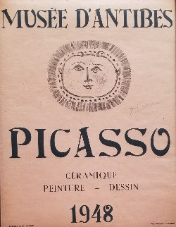 Musee D'antibes  Poster 1948 HS Other - Pablo Picasso
