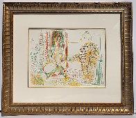 Le Pentre Et Son Model 1954  Limited Edition Print by Pablo Picasso - 1