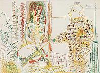 Le Pentre Et Son Model 1954  Limited Edition Print by Pablo Picasso - 0