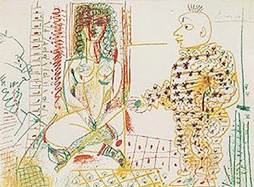 Le Pentre Et Son Model 1954  Limited Edition Print by Pablo Picasso
