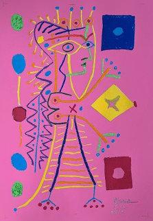 La Femme Aux Des (Jacqueline)  Limited Edition Print - Pablo Picasso