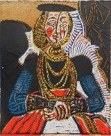 Buste De Femme D'apres Cranach Le Jeune Poster 1966 Limited Edition Print by Pablo Picasso - 1