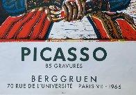 Buste De Femme D'apres Cranach Le Jeune Poster 1966 Limited Edition Print by Pablo Picasso - 3