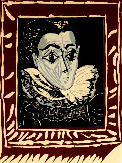 La Femme a La Fraise (Lady With a Ruff) Limited Edition Print - Pablo Picasso
