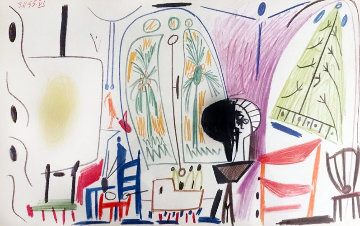 L'atelier De La Californie 1955 Limited Edition Print - Pablo Picasso