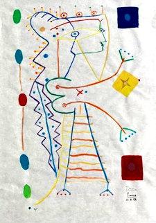 La Femme Aux Des (Jacqueline) AP 1958 Limited Edition Print - Pablo Picasso
